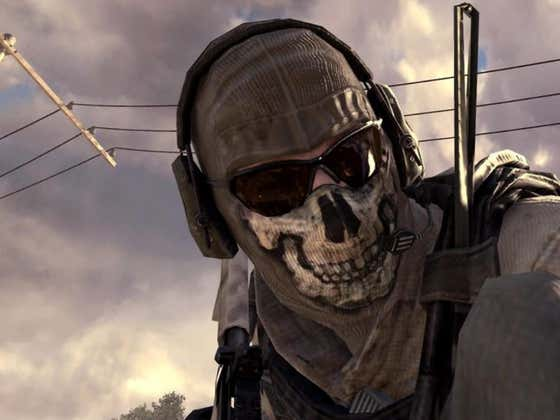 GHOST IS COMING BACK TO CALL OF DUTY BABY!!!!