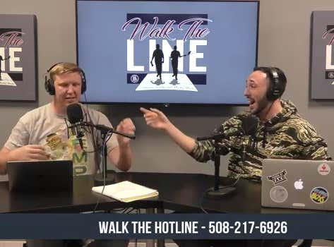 Walk The Line (FEATURING CALLER VOICEMAILS) - February 6th, 2020