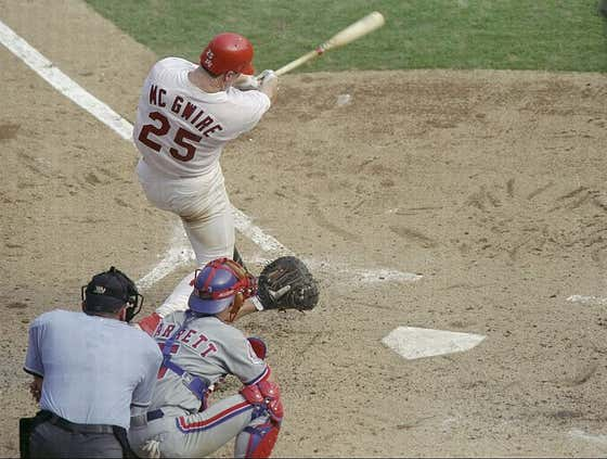 Wake Up With Mark McGwire's 70th Bomb Of The Season