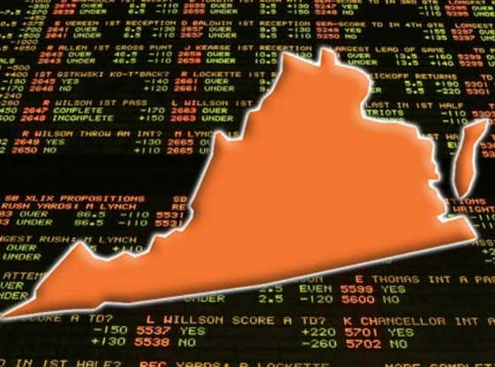 The State Of Virginia Is Extremely Close To Legalizing Sports Betting