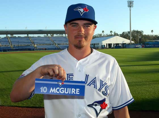 Blue Jays Catcher Reese McGuire Was Arrested For Allegedly Masturbating While Watching Porn In His SUV In A Public Parking Lot