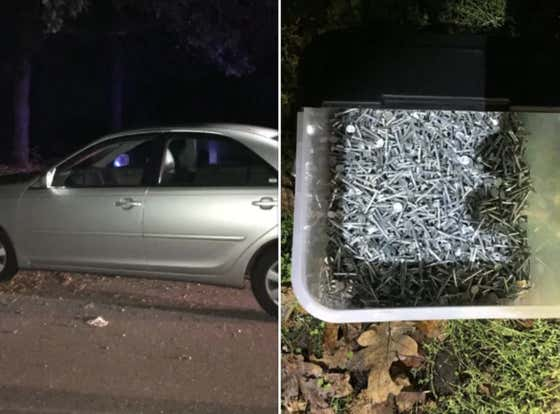 Road Rage Led Oregon Man To Wake Up Before Sunrise & Dump Buckets Of Nails On Road For TWO YEARS