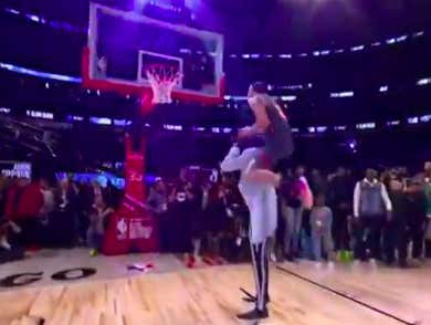 Aaron Gordon And Tacko Fall Were Robbed Of The Slam Dunk Contest Title