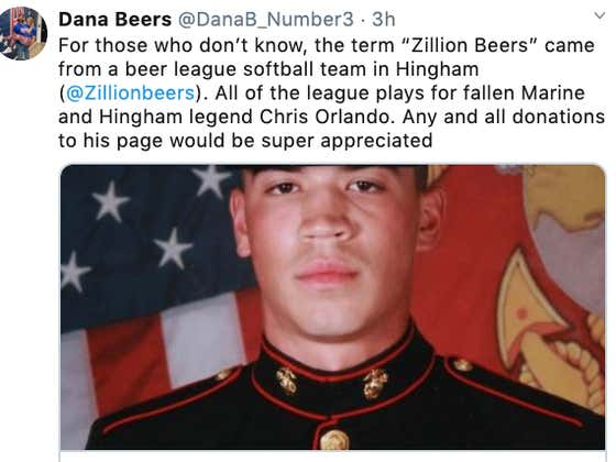 Birthplace Of 'Zillion Beers': A Beer-League Softball Team And The Fallen Marine They Play For