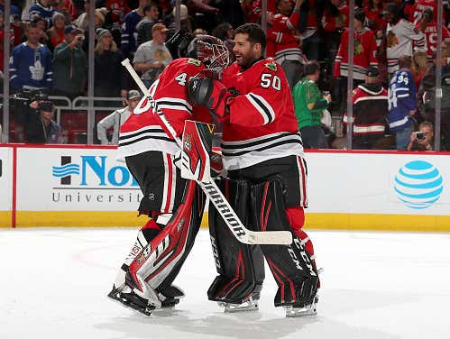 I Think The Blackhawks Need To Trade Robin Lehner
