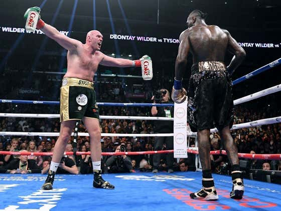 Tyson Fury Said He Kicked His 20-30 Diet Cokes A DAY Habit While Training For Saturday's Rematch Vs. Deontay Wilder