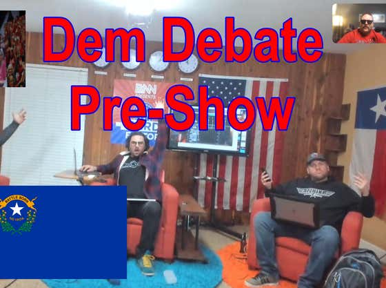 Barstool News Network Pre-Debate Live Stream: Dems in Vegas