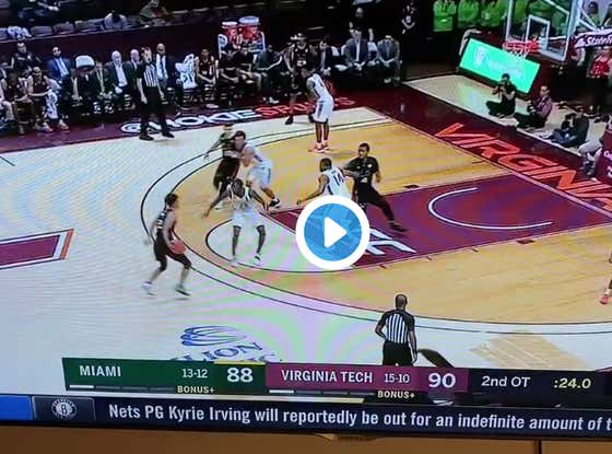 I Can't Take This.   Miami +4.  Headed To 3OT