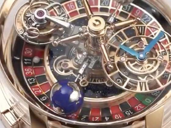 Drake Bought A Ridiculous $620,000 Watch That Features A Working Roulette Wheel