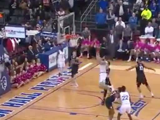 SABERMETRIC STAT OF THE YEAR: Seton Hall Is Now 26-0 When Brian Custer Calls Their Game After This ABSURD Buzzer Beater