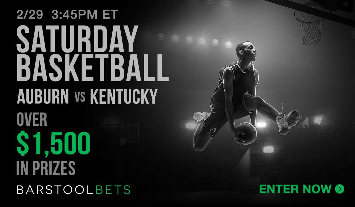 Saturday Basketball - Auburn @ Kentucky