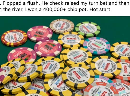 There's No Bigger Rush Than Being An Amateur Poker Player Going Deep In A Big Tournament