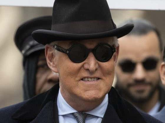 We All Need to Tip Our Cap to Roger Stone for Being the Most Prototypical Cartoon Looking Villain of All Time
