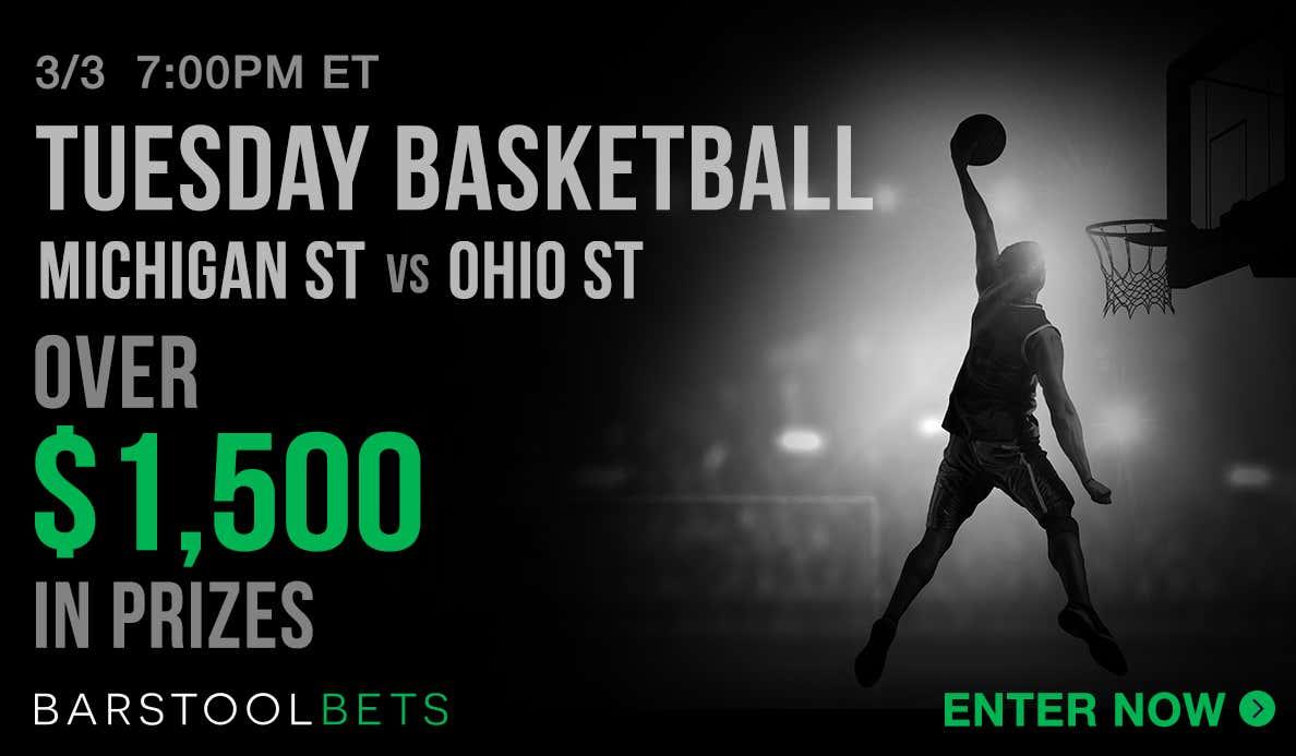 Tuesday Basketball - Michigan St @ Penn St