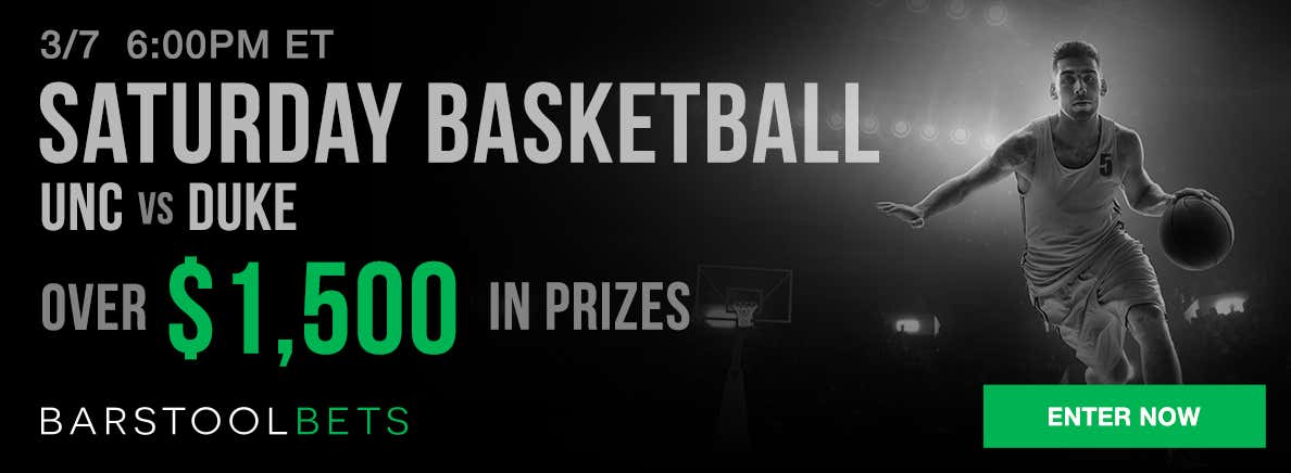 Saturday Basketball - UNC @ Duke