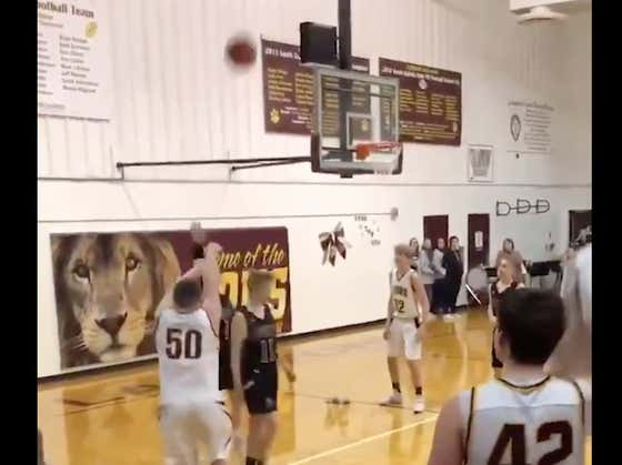 Feel Good Video: High School Kid Hits Game Winner After Opposing Team Gives Him Second Chance