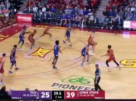 ISU gets a last second put back to hit the 1H over (64)