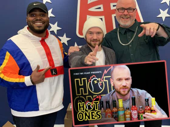 Large & Brandon Pitch Themselves To Be On An Episode Of Sean Evans' 'Hot Ones'