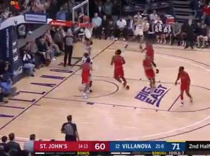 Nova misses an easy layup on their final shot that could have covered -12.5  @betthehoops