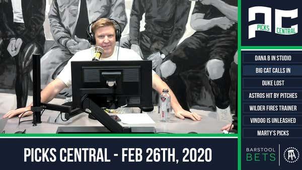 Picks Central - February 26, 2020