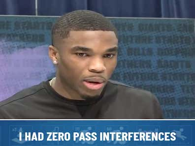 """A Reporter Called Out Jeff Okudah About His """"Sloppy Play"""" Leading To Penalties And Okudah Absolutely Buried Him With His Response"""
