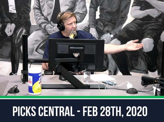 Picks Central - February 28, 2020
