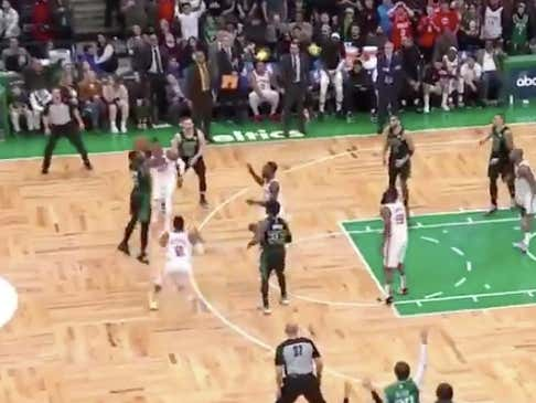Holy Shit Jaylen Brown