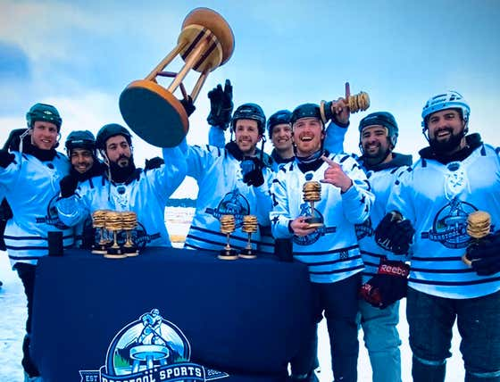 Team Iceland Is Your Barstool Pond Hockey Canadian Champion