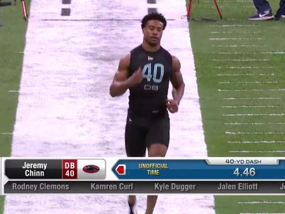 My Friend Did Well At The NFL Combine Today, So I'm Going To Brag About Him