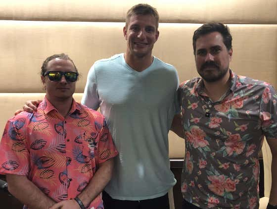 PMT: Rob Gronkowski, This Is March, James Harden Pooped Himself, + LeBron Is Still Insane