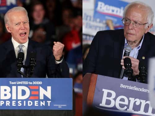 Super Tuesday 2020: Bernie Sanders vs. the DNC for the Democratic Party