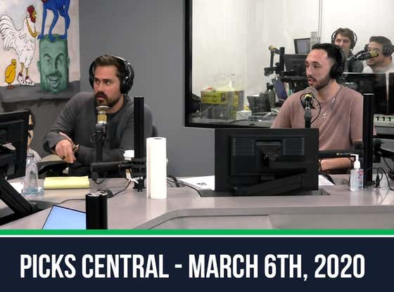 Picks Central - March 6, 2020