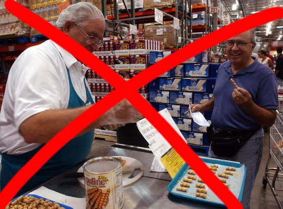 MOTHER OF GOD. The Coronavirus Outbreak Has Led To Costco Pulling Free Samples From Their Stores