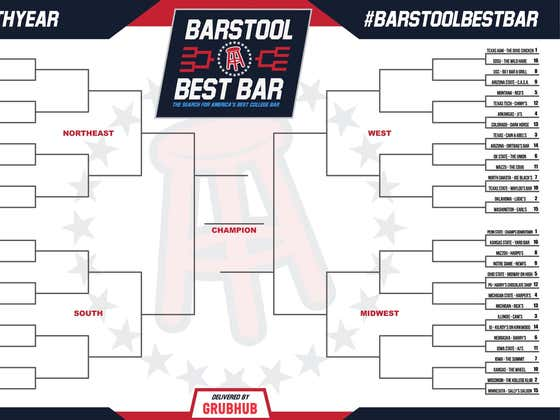The Official Barstool Best Bar Bracket Has Been Released