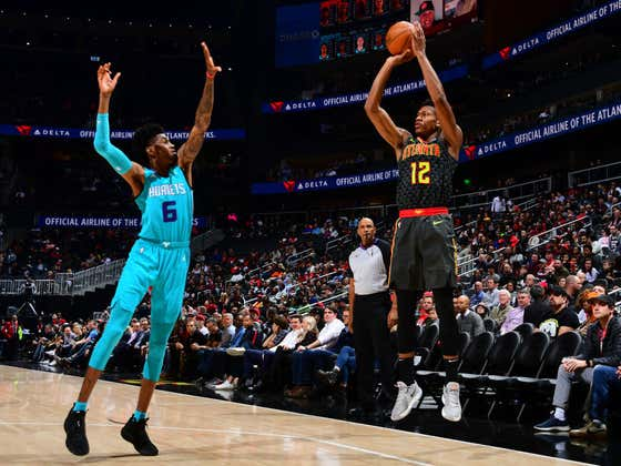 Hawks/Hornets Just Played One Of The Craziest Games Of The Season