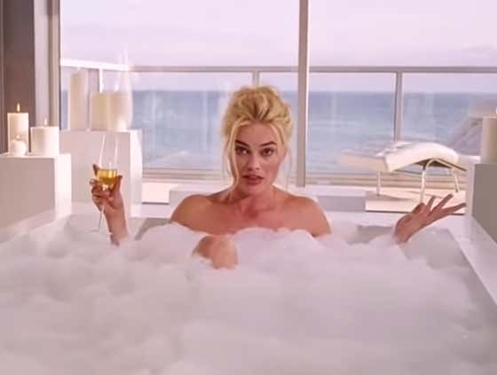 Wake Up With Margot Robbie In A Bubble Bath