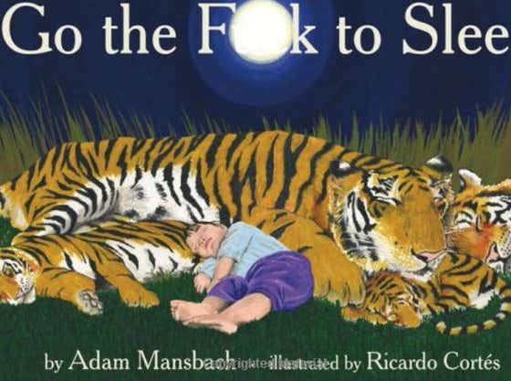 Two Frat Guys Walk Into Book Store, Ask For Bed Time Stories To Read To Their Frat Brothers, Find Greatest Bedtime Book Ever