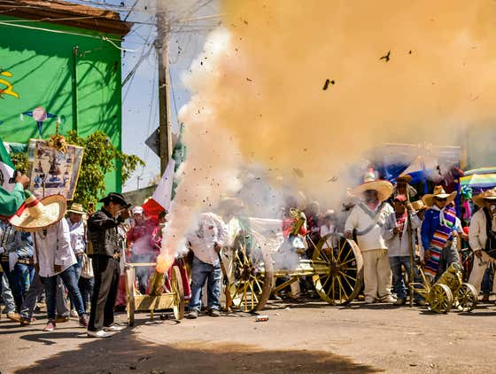 Take Advantage of Cheap Air Fares By Attending The Exploding Hammer Festival in Mexico