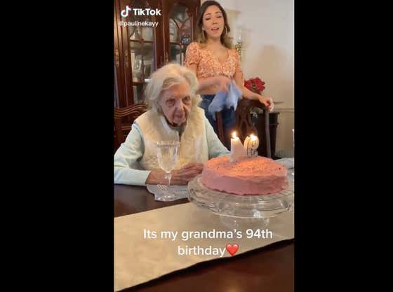 """Grandma At Her 94th Birthday Party: """"I Hope This Is My Last"""""""