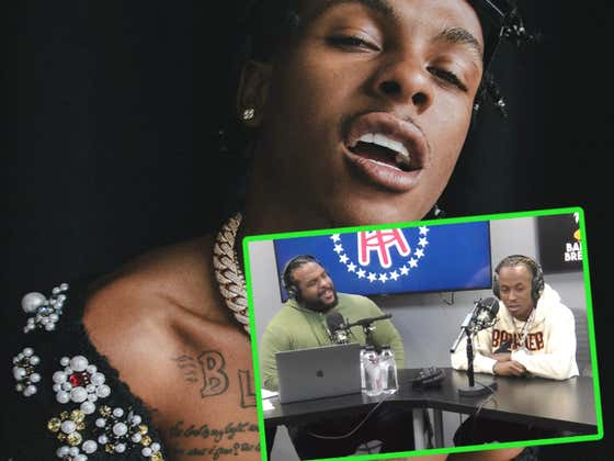 On A Scale Of One To Willie Nelson, How High Was Rich The Kid During This Interview?
