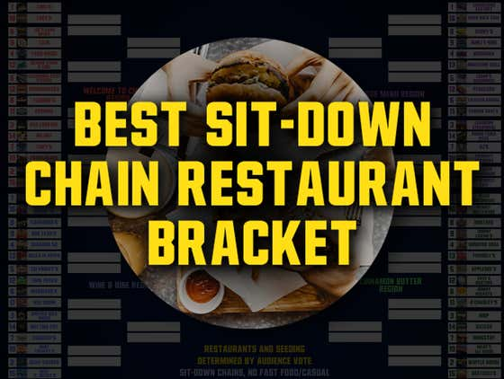 Best Sit-Down Chain Restaurant Bracket (Round 2 VOTING OPEN)