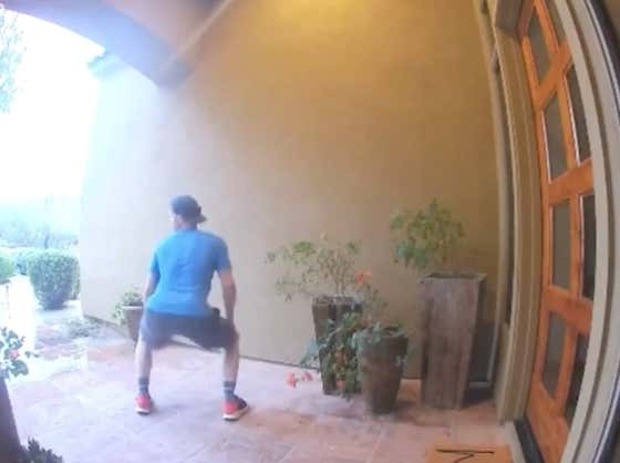 Brock Holt Lived With Joe Kelly This Spring And Busted Out A Different Dance Move On His Security Camera Every Morning