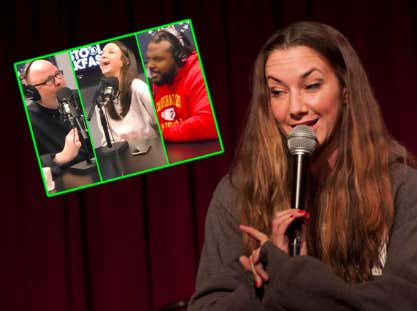 Comedian Kerryn Feehan Tells Willie And Large How To Date In NYC
