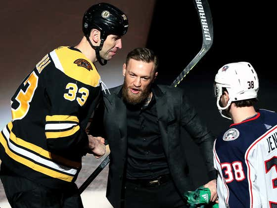Wake Up With Conor McGregor Dropping The Puck + Brad Marchand Hitting The Billionaire Strut After Winning In OT vs. CBJ
