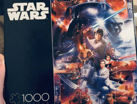 Come Hang Out With Trent & I Tonight As We Begin This Star Wars Puzzle