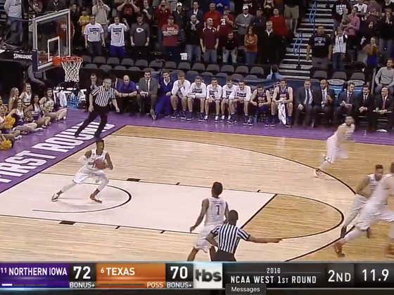 4 years ago today, Paul Jesperson hit the half court buzzer beater to upset #6 seed Texas in the first round of the tournament.