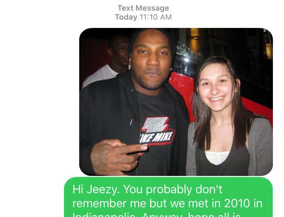 Soul Survivor, Quarantine Thriver: Rapper Jeezy Gave Out His Cell Number Today So I Hit My Old Friend Up