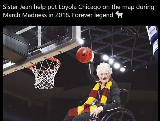 Bleacher Report's Photoshop Of Sister Jean Dunking Just Ruined My Day