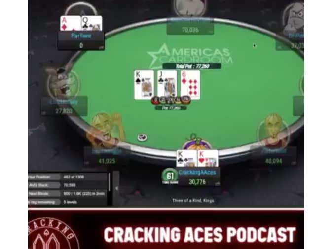 I Will Be Streaming Poker Every Day At 2:30 PM, Join Me As I Try To Get My Pocket Kings To Hold Vs AQ