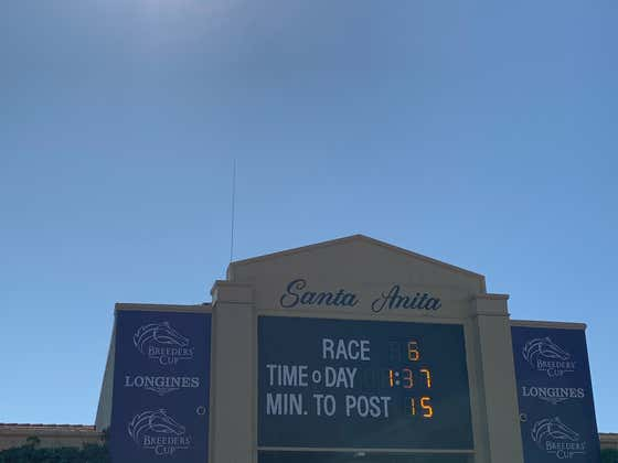 Let's Mix It Up And Play The Early Daily Double at Santa Anita